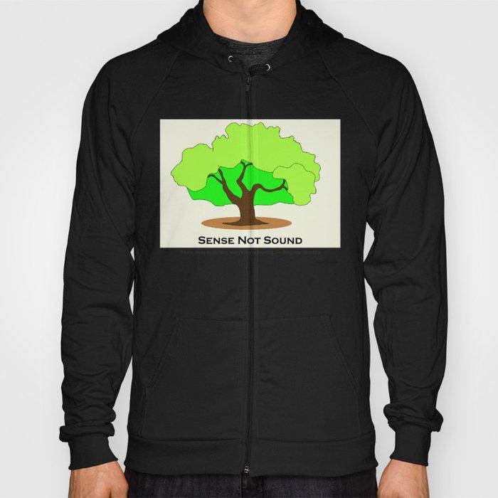 Oak Tree Flag Hoody