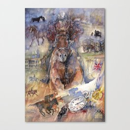Way to victory Canvas Print