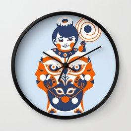 Gratified Wall Clock
