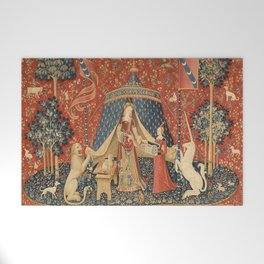 The Lady And The Unicorn Welcome Mat
