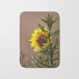 The sunflower Bath Mat