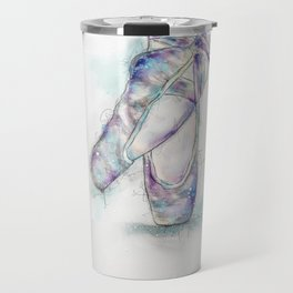 Ballet Pointe Shoes Travel Mug