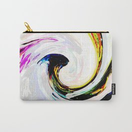 496 - Abstract Colour Design Carry-All Pouch