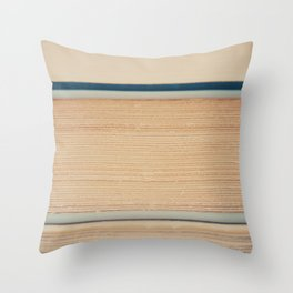 the pages of a book ... Throw Pillow