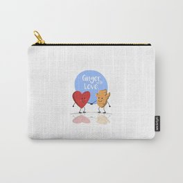 Ginger with Love Carry-All Pouch