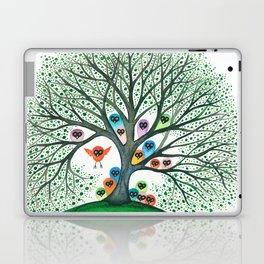 Teton Owls in Tree Laptop & iPad Skin