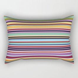 Colorful Symphony of Summer Rectangular Pillow