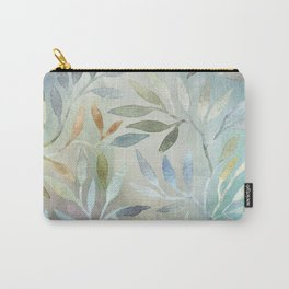 Painted Leaves Carry-All Pouch