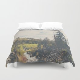 into the wild ...  Duvet Cover