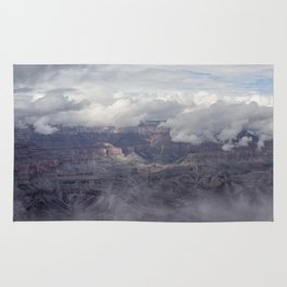 Canyon in Clouds Rug