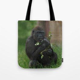 Cheeky Gorilla Lope Tote Bag