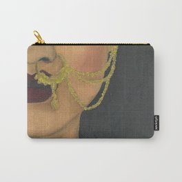 Woman With a Nose Ring Carry-All Pouch