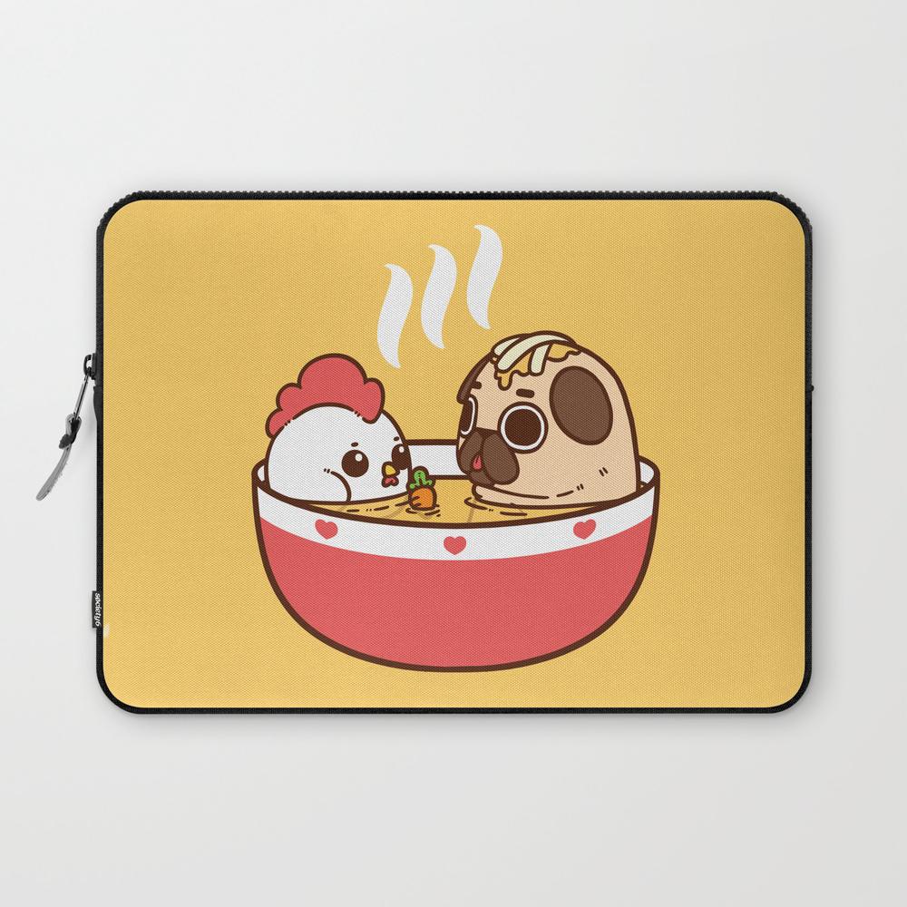 Chicken Noodle Puglie Soup Laptop Sleeve LSV2956855