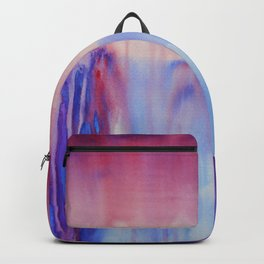Waterfall, abstract watercolor Backpack