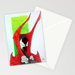 Spawn Bust Stationery Cards