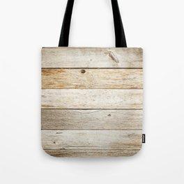 Vintage Wood Tote Bag