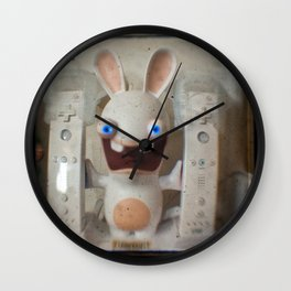 Rayman Raving Rabbids Wall Clock