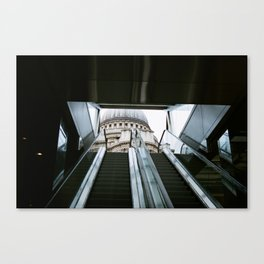 Contrasting City. Canvas Print