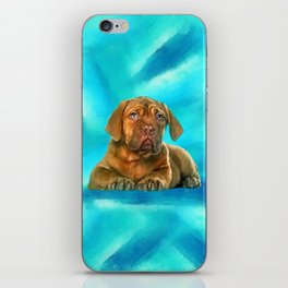 Dogue de Bordeaux iPhone Skin