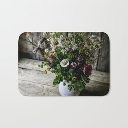July Bouquet Bath Mat