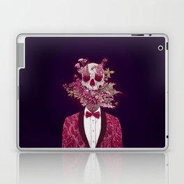 Skull Blossom Laptop & iPad Skin
