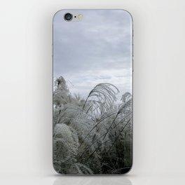 Wisps in the wind iPhone Skin