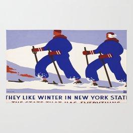 Vintage poster - New York Rug