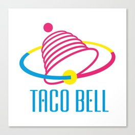 Taco Bell Canvas Print