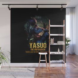 League of Legends YASUO - The Unforgiven - video games champion Wall Mural