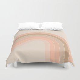 Soft Light Corner Bow Duvet Cover