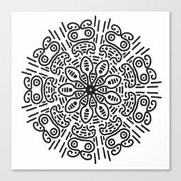 Spiral hand made Canvas Print