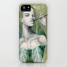 A Smokers Lungs iPhone Case