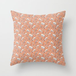 Skulls and Daggers Throw Pillow