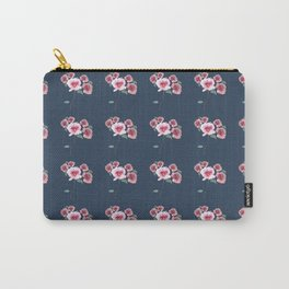 Watercolor Floral Bouquet Pattern Carry-All Pouch