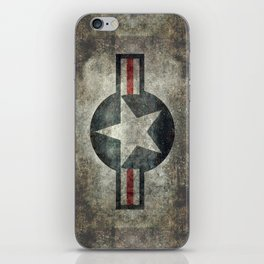 Stylized US Air force Roundel iPhone Skin