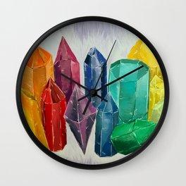 Crystal Rainbow Wall Clock