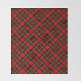 Scottish Fabric Throw Blanket