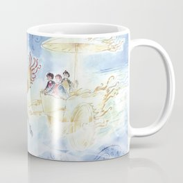 The Chinese Magic Creature (Chi Lin), The Light Charriot and the Three Children - Dragon Coffee Mug