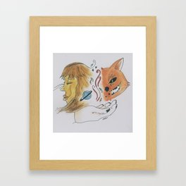 """""""Tails of Two"""" Framed Art Print"""