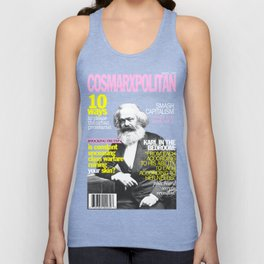 COSMARXPOLITAN, Issue 1 Unisex Tank Top