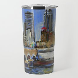 Des Moines, Iowa Travel Mug
