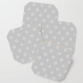 Grey Gamer Coaster