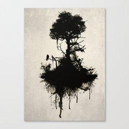 Last Tree Standing Canvas Print
