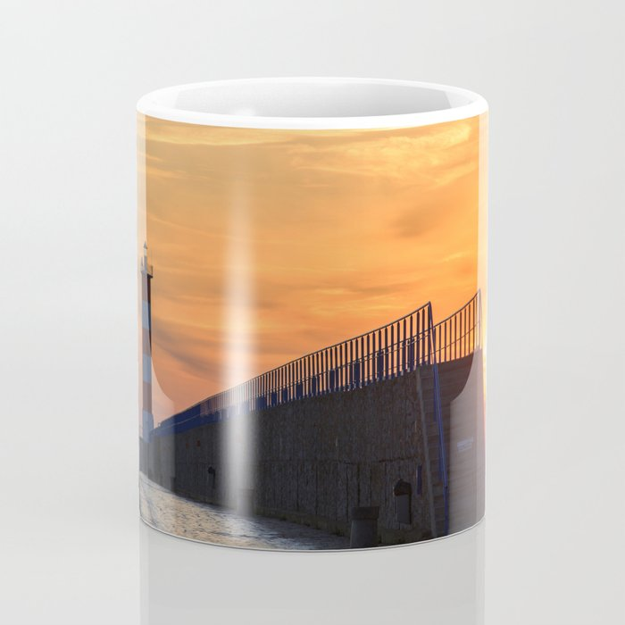 Light House at Port la Nouvelle South France Coffee Mug