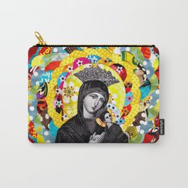 Nossa Senhora do Perpétuo Socorro (Our Lady of Perpetual Help) Carry-All Pouch