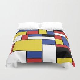 Mondrian Geometric Art Duvet Cover
