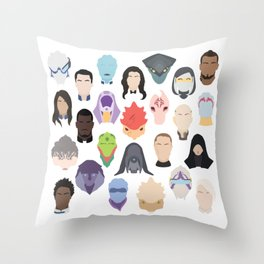 Choose Your Entire Party Throw Pillow