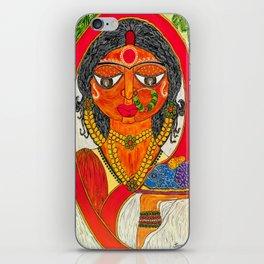 East Indian Bengali Bride iPhone Skin
