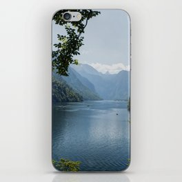Germany, Malerblick, Mountains - Alps Koenigssee Lake iPhone Skin