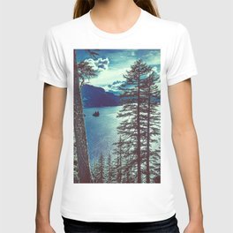 Crater Lake Vintage Summer T-shirt